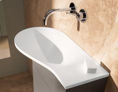 Stylish Bathroom Sink Designs by Burgbad – Pli collection