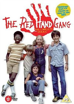 The Red Hand Gang - Series 1 - Complete [DVD] This was fantastic took me right back to my childhood 1980s Childhood, My Childhood Memories, 1980s Tv Shows, Kids Tv, My Youth, Teenage Years, Classic Tv, Alter, Favorite Tv Shows