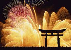 Miyajima Fireworks in Hiroshima