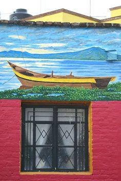 En Ajijic lacustre - México