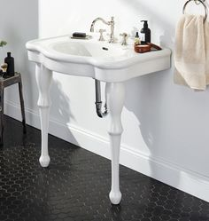 Superbe My Bathroom Victorian Pedestal Single Sink Console