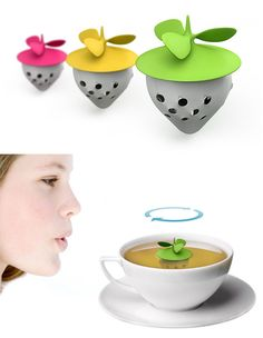 Creative and Fun Tea Infuser Designs For The Tea Lover - how cool is this!