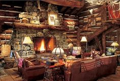 Main lodge at RL ranch. Someday, my friends. Someday.