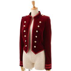 EXCENTRIQUE '15A Ritual Spencer Jacket BOLDEAUX