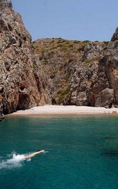 Kyriakoulou beach - Kythira Island, Greece