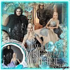 Résultats de recherche d'images pour «daenerys targaryen y jon snow»