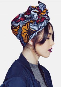 Turban flexible wax - L'Africaine - AMINATA