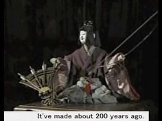 "▶ The most famous Japanese ""Karakuri"" automata that have made 200 years ago. - YouTube"