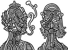 Smoker - Keith Haring