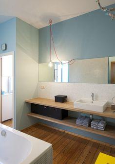Rénovation: une maison de rangée à Saint-Trond - GAEL Maison - Rénovation - Gael