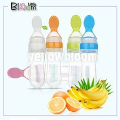 Silicone Scoop Rice Cereal Food Supplement Feeder