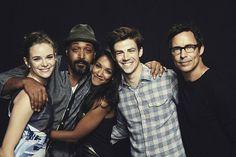 Los protagonistas de 'The Flash'