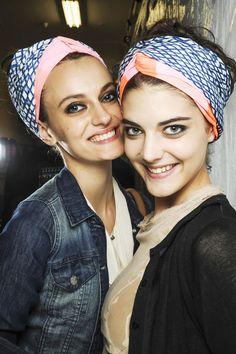 Haartrend für Frühjahr/Sommer 2013: Haartücher // Headbands
