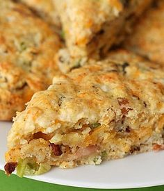 scones recipe - bacon cheddar Made these and they are LEGIT! Seriously bordering on addictive!