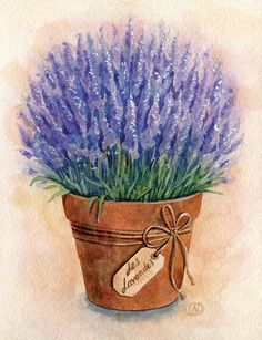 Lavender la Provence by Natalia Tyulkina,