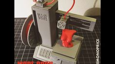a miniature 3Dprinter by Baschz Leeft