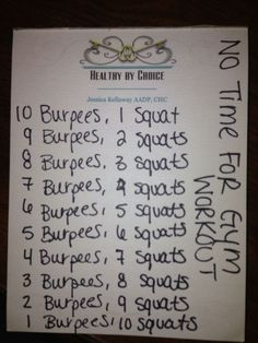 cool No time for the gym? No EXCUSE! - workout More