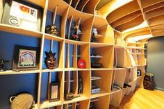 plywood interior architecture - Google Search
