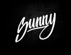 """Check out new work on my @Behance portfolio: """"Lettering Sunny"""" http://be.net/gallery/44776155/Lettering-Sunny"""