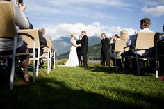 Fun Whistler Wedding Pictures by Gadbois Photography | Sash and Satin
