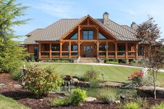 Southland Log Home Photos & Pictures | Longleaf Lodge 006