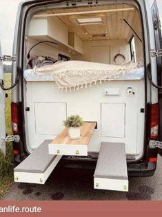 Van Living, Captions, Instagram Caption, Loft, Cabinet, Storage, Bed, Furniture, Home Decor
