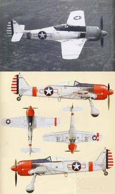 Fw 190 with american marks for evaluation.