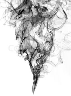 Stock image of 'black color smoke from white background  . The abstract image of a smoke on a white background' pinned with #Bazaart - www.bazaart.me