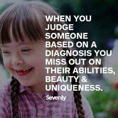 Yet it happens so often, not just diagnosis. So many people miss out on knowing great people