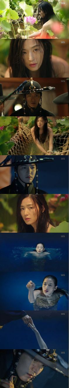 "[Spoiler] ""The Legend of the Blue Sea"" Jeon Ji-hyeon and Lee Min-ho's first encounter"