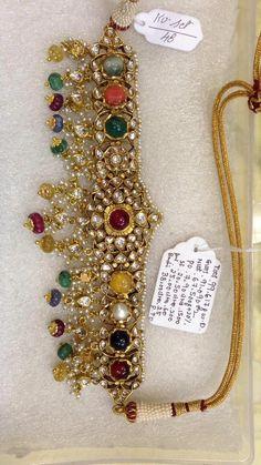 Indian Wedding Jewelry, Royal Jewelry, Gold Jewelry, Jewlery, Bridal Jewellery Inspiration, Jewelry Design Earrings, Necklace Designs, Antique Jewellery Designs, Dibujo