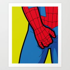 The secret life of heroes - SpiderItch Art Print by Greg-guillemin - $20.00