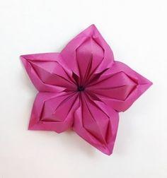 DIY Gorgeous origami spring flowers (paper folding) // Csodaszép tavaszi origami virágok egyszerűen (papírhajtogatás) // Mindy - craft tutorial collection