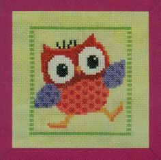 Red Owl - Cross Stitch Kit