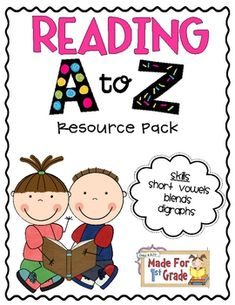 Reading A to Z Resource Pack {Short Vowels} - Mund- und Zahngesundheit 2020 Reading Resources, Reading Strategies, Reading Activities, Reading Skills, Literacy Activities, Guided Reading, Teaching Reading, Fun Learning, Teaching Ideas
