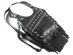 Revolverbag Holster bag Ledertasche Nieten von AnnaBelleBags