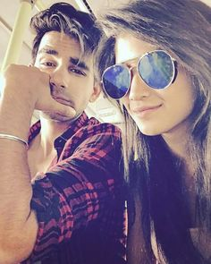 Image may contain: one or more people, sunglasses, selfie and closeup Oval Faces, Square Faces, Kartik And Naira, Kaira Yrkkh, High Cheekbones, Cute Couples Photos, Couple Photoshoot Poses, Cutest Couple Ever, Look Thinner
