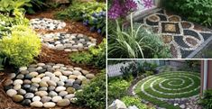 Coming across rock landscaping ideas backyard can be a bit hard but designing a rock garden is one of the most fun and creative forms of Outdoor Projects, Outdoor Decor, Outdoor Spaces, Garden Deco, Garden Art, Yard Care, Landscaping With Rocks, Landscaping Ideas, Raised Garden Beds
