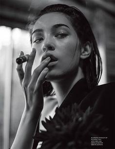 Kiko Mizuhara for FHM Collections China AW15  Photography: Chen Man  Styling: Shun Watanabe