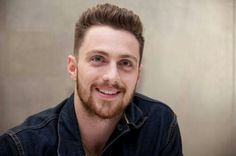 Aaron Taylor-Johnson at the 'Godzilla' Press Conference in Aaron Taylor Johnson, Hottest Guy Ever, Hot Guys, Actors, Fictional Characters, Beautiful, Godzilla, Conference, Hollywood