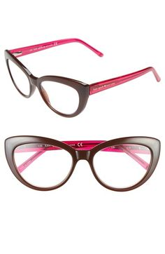 669309a19d00 kate spade new york  kalena  53mm cat eye reading glasses available at   Nordstrom
