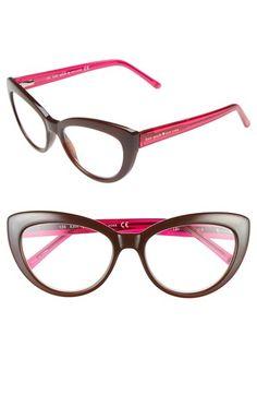 bfe4caea1cb kate spade new york  kalena  53mm cat eye reading glasses