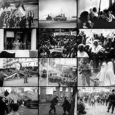 Algerian war collage - This Day in History: Jul 3, 1962: The Algerian War of Independence against the French ends.