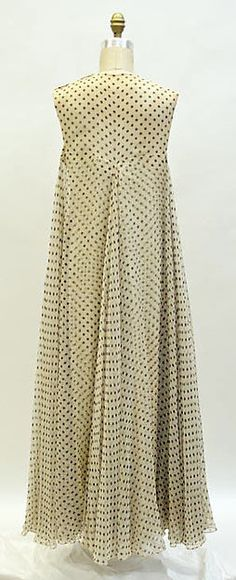 Designer:Madame Grès (Alix Barton) (French, Paris 1903–1993 Var region) Date:early 1960s Culture:French Medium:silk Madame Grès (Alix Barton)   Evening dress   French   The Met