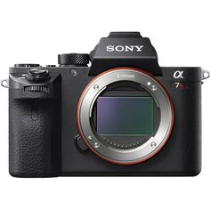 Sony Alpha II Mirrorless Camera Body: Photos and videos bring important moments to life thanks to a Exmor R full-frame CMOS sensor. Instantly share images via your smartphone, PC or HDTV via built-in Wi-Fi. Camera Sony, Cameras Nikon, Cinema Camera, Camera Gear, Instax Camera, Camera Hacks, Sony Alpha 7 Ii, Sony Alpha A7s, Dolby Digital
