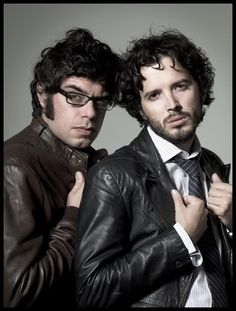 Jemaine Clement and Bret McKenzie.