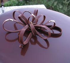 Uno specchio di cioccolato
