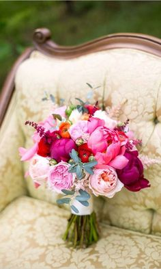 Gorgeous Summer Wedding Bouquets