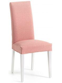 Un classico elegante e nuovo, per questa raffinata sedia imbottita con gambe in legno naturale o bianche. Comoda con lo schienale alto e una seduta sostenuta. Una linea classica pulita e fresca, che arreda con gusto ogni tipo di ambiente. Bellissimo rivestimento in tessuto scelta colore. Di grande prestigio e solidità.