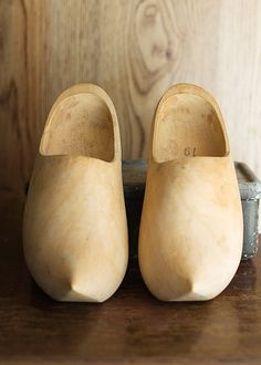 Holland, :) Plain, simple & unpainted, the way most Dutchman would want them.